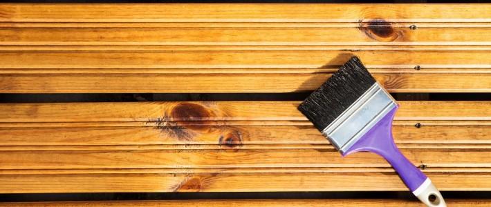 zmiana koloru drewna