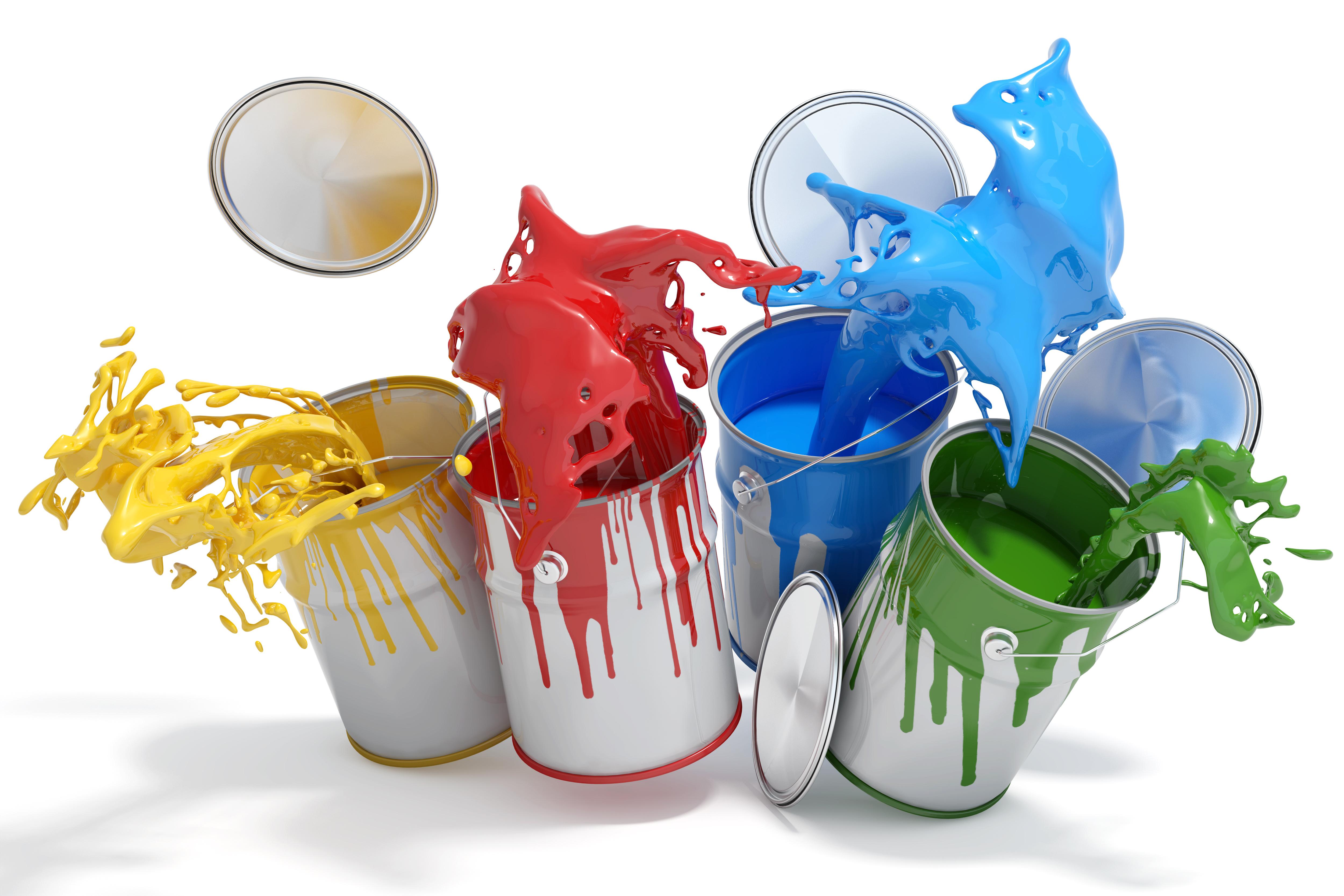 Kolorowe farby sklep